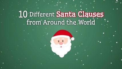 10 Different Santa Clauses From Around the World