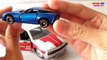 Jada Toys Cars | Tomica Toy Car Chevrolet Corvette Z06 | Kids Cars Toys Videos HD Collection