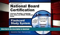 READ Flashcard Study System for the National Board Certification Literacy: Reading - Language