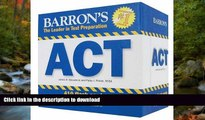 Hardcover Barron s ACT Flash Cards Kindle eBooks