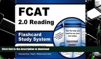 Pre Order FCAT 2.0 Reading Flashcard Study System: FCAT Test Practice Questions   Exam Review for