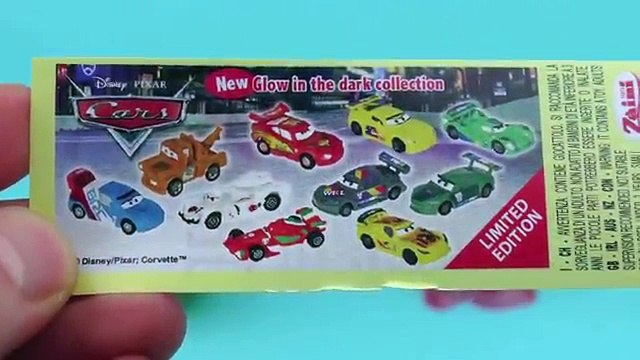 Surprise Eggs Opening - TOTO, Disney Cars, Kinder Surprise Eggs - Surprise Eggs Toys