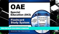 Hardcover OAE Special Education (043) Flashcard Study System: OAE Test Practice Questions   Exam