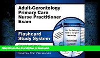 Pre Order Adult-Gerontology Primary Care Nurse Practitioner Exam Flashcard Study System: NP Test