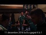 Dernier match de 2016 : Victoire 6 à 1 pour la B