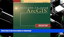Pre Order Getting to Know ArcGIS Desktop