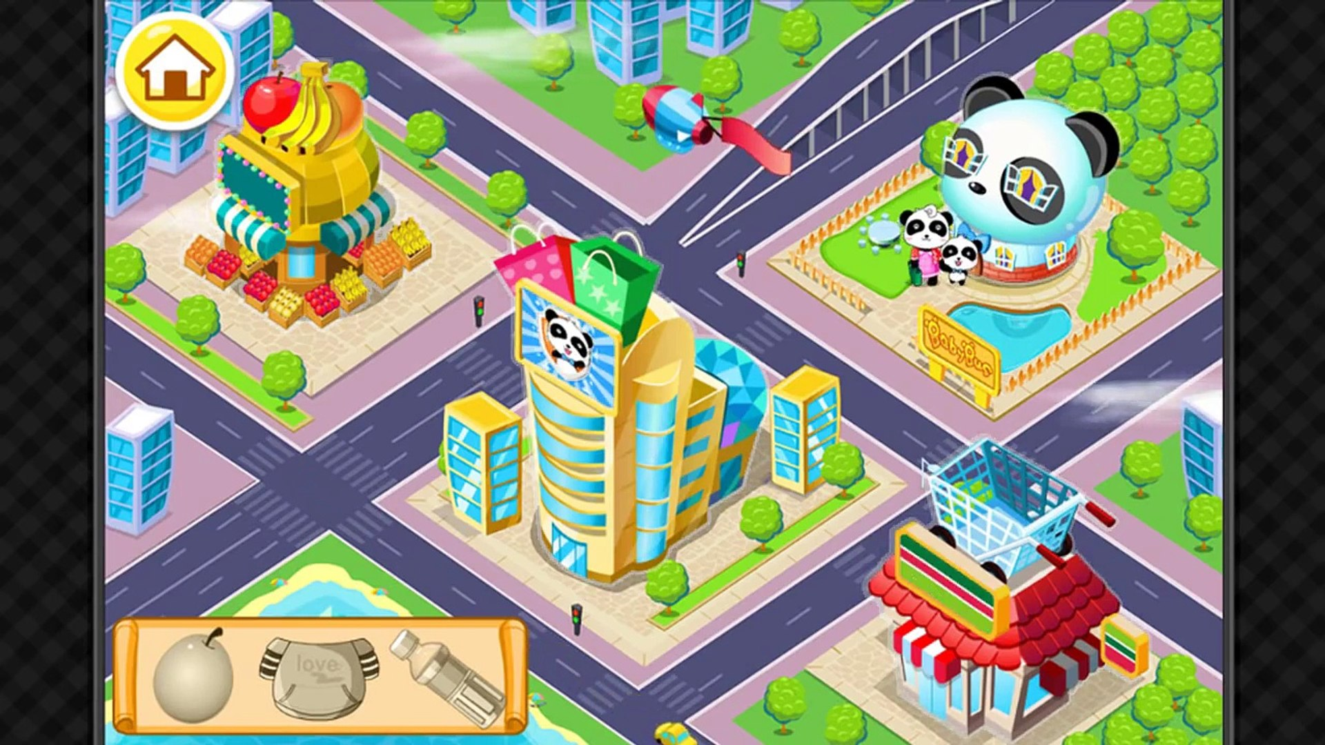 Travel Safety Tips, Kids learn attention to safety, Education Panda game for kids by Babybus