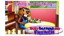 """Eating & Drinking"" (French Lesson 19) CLIP – Enfants Français, Bébé French, Easy French Course"