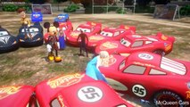 Disney lightning mcqueen cars and frozen elsa anna mickey mouse spiderman woody pixar
