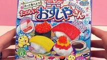 Popin Cookin deutsch Sushi   Japanische Süßigkeiten zum selber machen   Unboxing