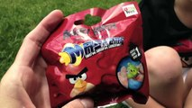 ANGRY BIRDS Blind Bags Toy Videos Mystery Bags Angry Birds Mashems Ядосан�