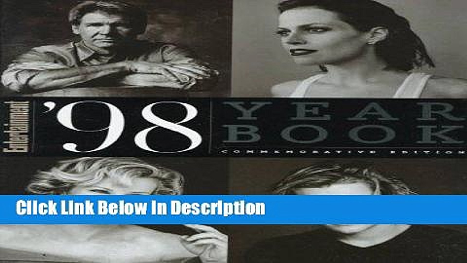 PDF Entertainment Weekly 1998 Yearbook (Entertainment Weekly Yearbook) Epub Online free