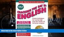 Price Cracking the SAT II: English 1998-99 Edition (Annual) John Katzman For Kindle