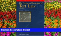 PDF The Forms and Functions of Tort Law, 3d (Concepts and Insights)