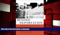 Audiobook Beyond Deportation: The Role of Prosecutorial Discretion in Immigration Cases