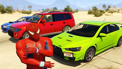 FUNTIME with BUZZ & Spideman! Toy Story Plus Cars Cartoon for Kids Funny Nursery Rhymes Songs