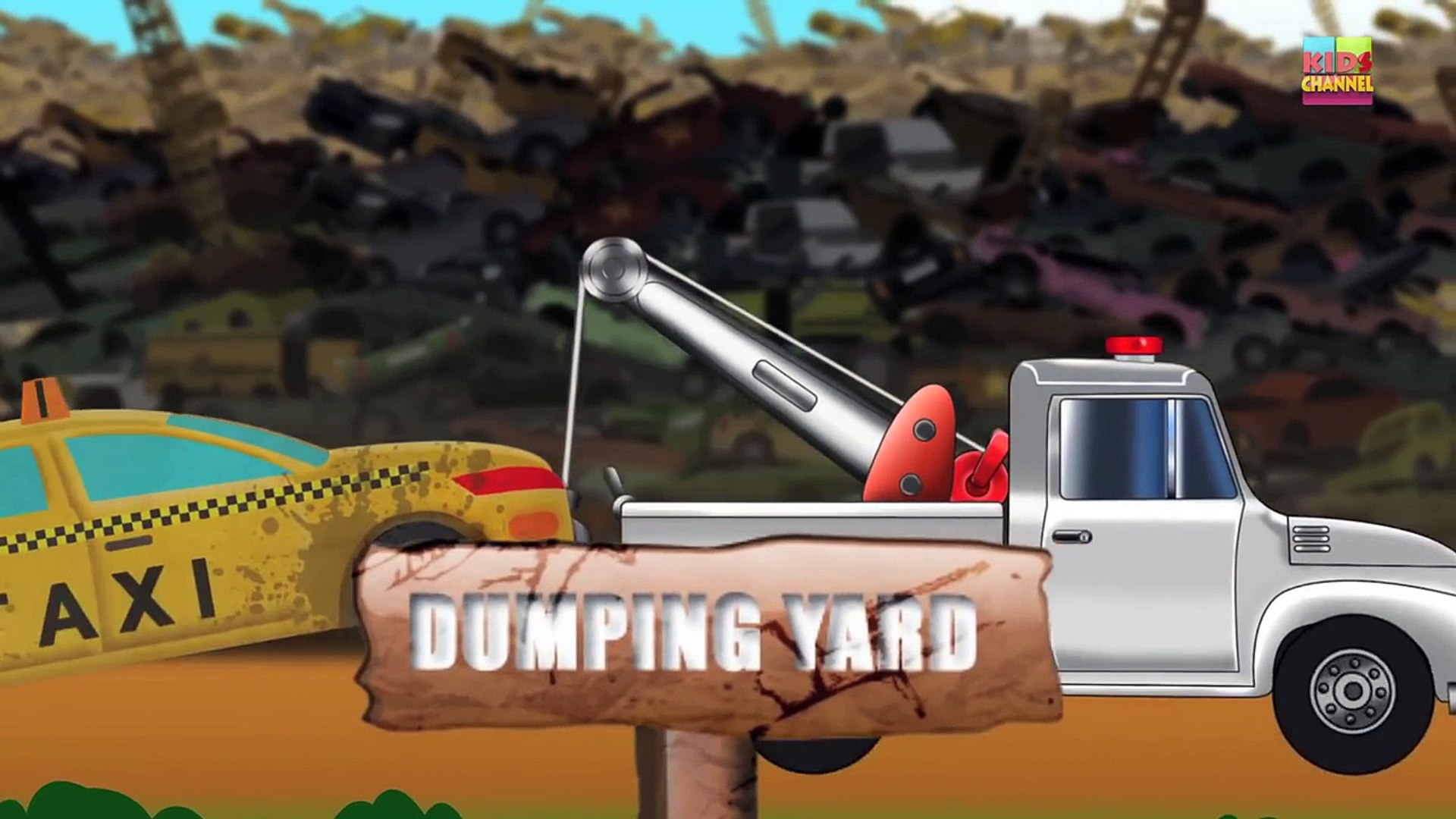 Taxi | Dump Yard | Crusher Machine