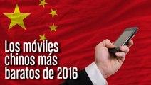Mejores móviles chinos baratos de 2016