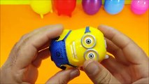 Learn Colours with Surprise Nesting Eggs ! Opening Surprise Eggs with Kinder 6 Eggs Inside !