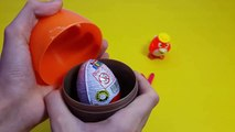 Kinder Surprise Egg Learn A Word! Lesson P Teaching Spelling Letters Eggs Toys