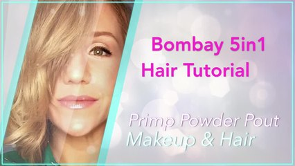 Bombay 5in1 Wand - Curling Long Hair   Primp Powder Pout