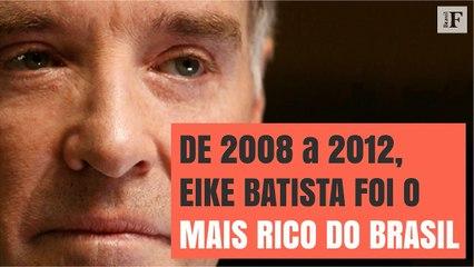 Relembre a ascensão e queda de Eike Batista