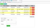 Membuat Tambah & Tampil Data dengan PHP PDO + jQuery Ajax (1)