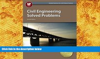 BEST PDF  Civil Engineering Solved Problems, 7th Ed Michael  R. Lindeburg PE BOOK ONLINE
