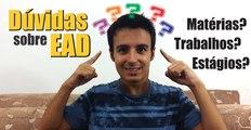 EAD - Trabalhos, Estágios e Matérias | Educação a Distância na Estácio | Lucas Ramon