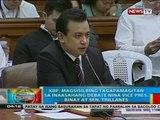KBP, magsisilbing tagapamagitan sa inasaahang debate nina Vice Pres. Binay at Sen. Trillanes