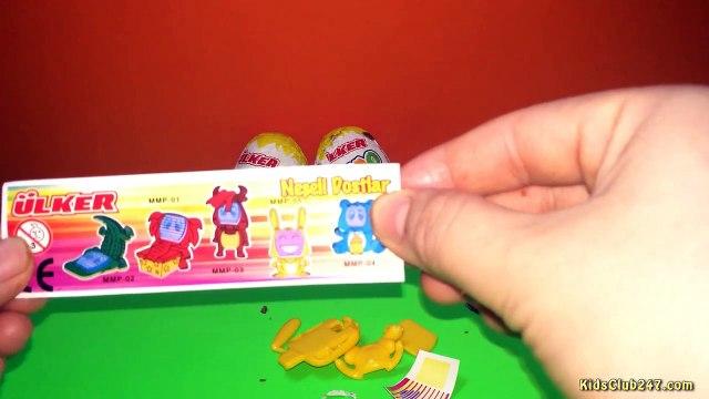 Surprise eggs | Yupo Surprise Eggs | Surprise Eggs with toys | Surprise eggs disney collector