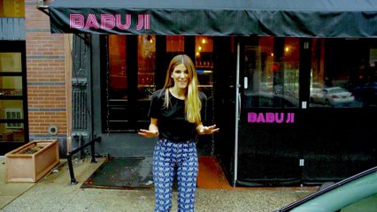 Eden Eats NYC, with chef Jessi Singh at Babu Ji (butter chicken)