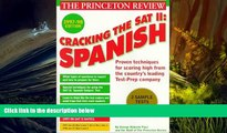 PDF [DOWNLOAD] Cracking the SAT II: Spanish Subject Tests, 1998 ED (Annual) John Katzman