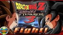 Dragon Ball Z Budokai 3 - Goku SSJ4 vs Vegeta SSJ4
