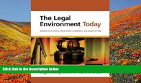 READ book The Legal Environment Today: Business In Its Ethical, Regulatory, E-Commerce, and Global