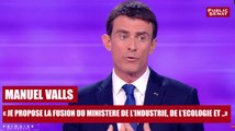 """REPLAY. Manuel Valls : """"Je propose la fusion du ministère de l'industrie, de l'écologie et de l'énergie"""""""