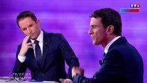 Débat Benoît Hamon - Manuel Valls : le lapsus de Valls sur Dieudonné