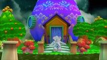 Elephant Rain Rain Go Away Funny Cartoon Animated Nursery Rhymes|Elephant Dancing In Colorful Rain