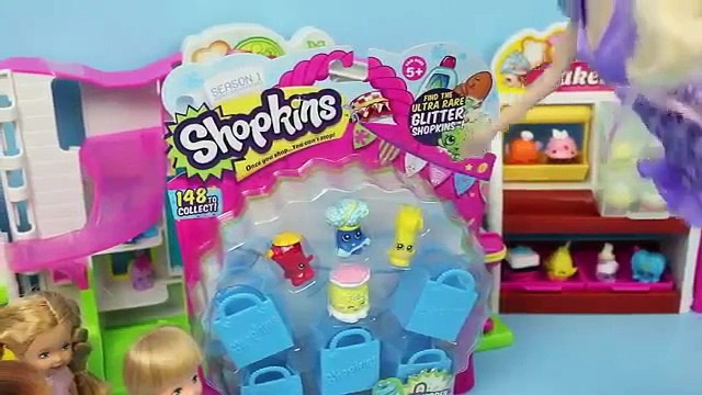 Frozen Kids Buy Shopkins Krista amp Felicia Shopkins Shopping with Elsa amp Anna by DisneyCarToys