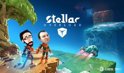 Voxel interview# STELLAR OVERLOAD: le boss de Cubical drift