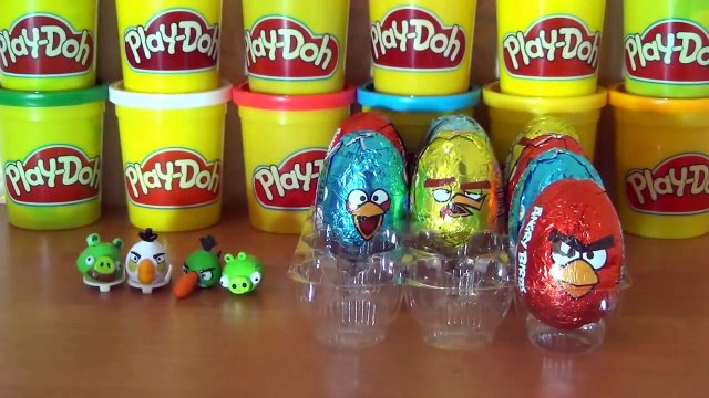 12 Surprise eggs Angry Birds - Angry Birds toys - Игрушки Angry Birds [Angry Birds]
