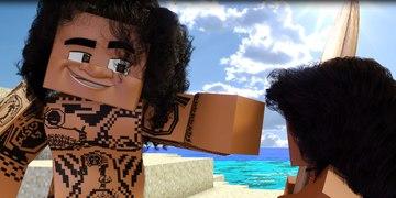 You re Welcome Disney Moana Minecraft Animation
