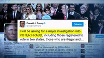Trump orders investigation of his debunked claim of widespread voter fraud