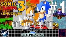 Sonic 3 & Knuckles - Mega Drive & Sega Genesis - #1 - Sonic & Tails - Angel Island