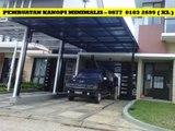 Kanopi Rumah Minimalis Sidoarjo - 0877 0103 2699 (XL)