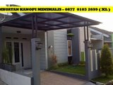 Kanopi Rumah Minimalis Gresik - CALL 0877 0103 2699 (XL)