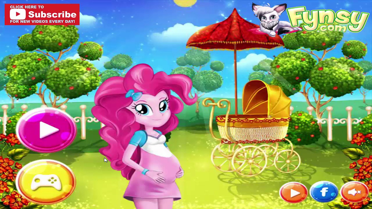 Pregnant Pinkie Pie Baby Birth – My Little Pony Giving Birth to Baby – MLP Full Game Episode
