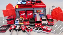 Fire engine Fire Station Cars Tobot Tayo the Little Bus Robocar Poli Toys YouTube