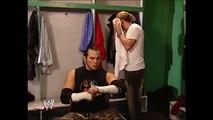 Jeff Hardy & Matt Hardy Backstage SmackDown 11.16.2007