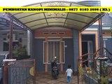 Kanopi Rumah Minimalis Sidoarjo CALL - 0877- 0103 – 2699 ( XL )